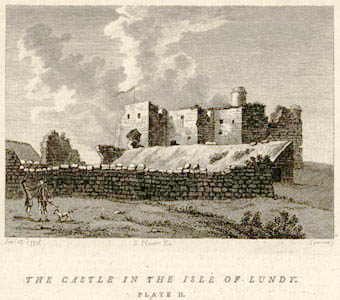 Lundy castle or fort in 1770