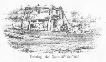 raising the quoit