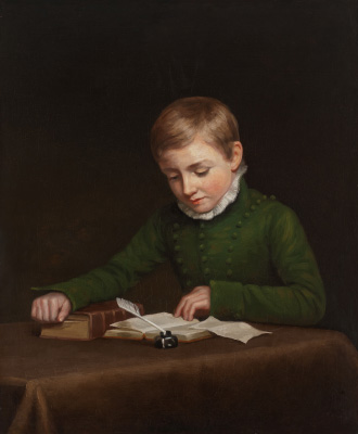 George Parker Bidder as a child