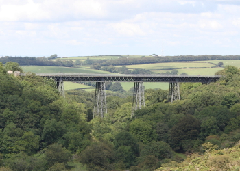 Meldon Viaduct from south