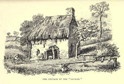 The North Devon Savages' cottage
