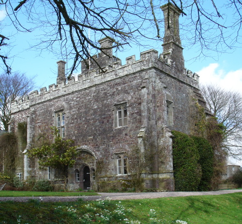 Affeton Castle gatehouse