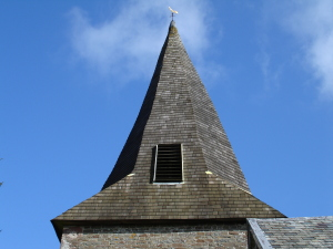 steeple of Church of St Mary, West Worlington