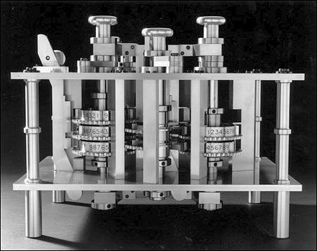 The Difference Engine No. 2, as partially built in 1991